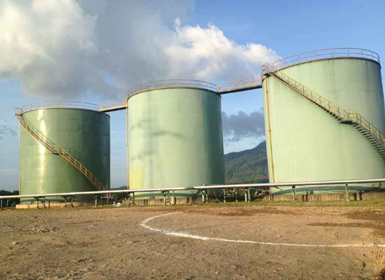 crude palm oil storage tank