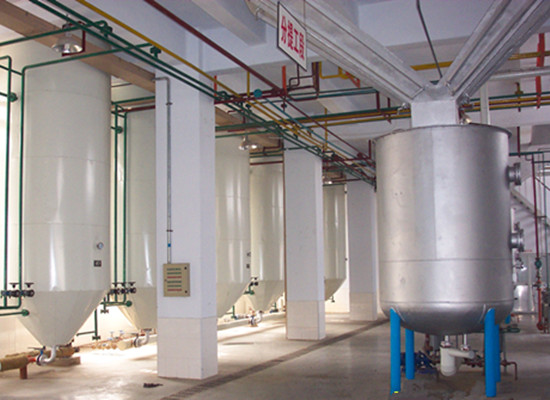palm oil fractionation equipment plant