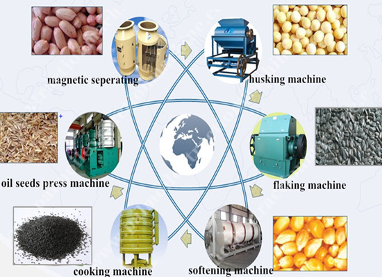 castor oil processing machine