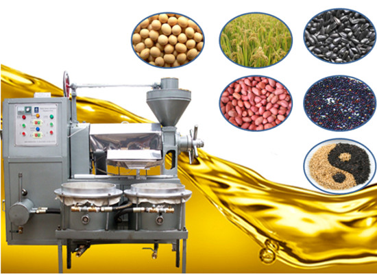 sunflower oil presser machine