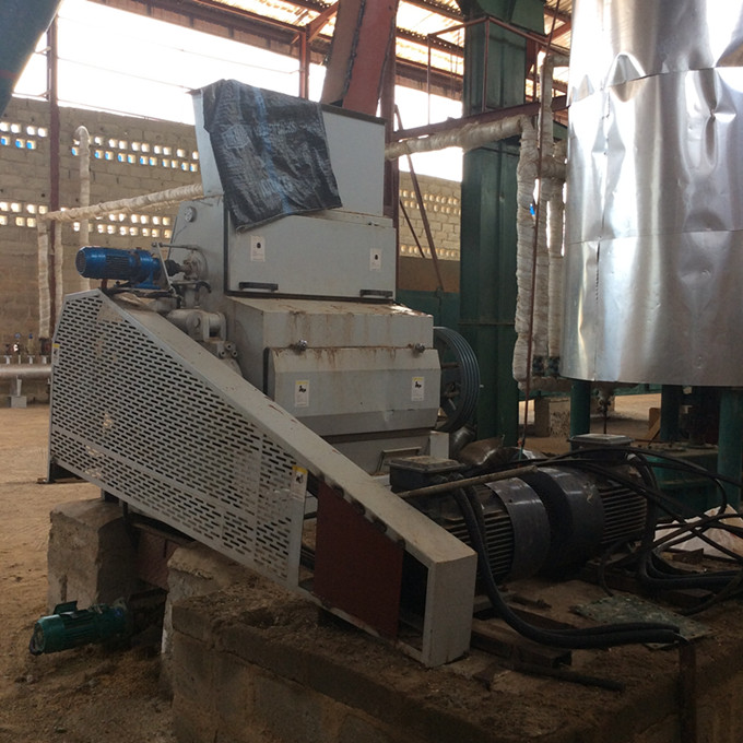 palm kernel flaking machine