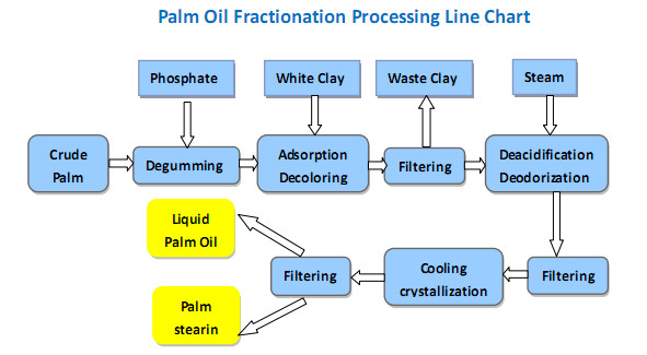 palm oil fractionation