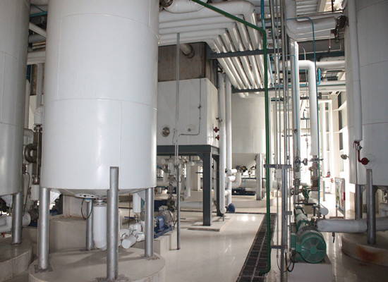 palm oil fractionation machine