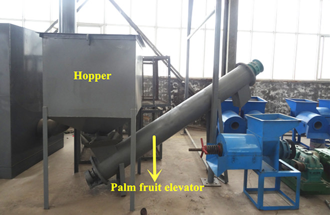 0.5t/h palm oil production process