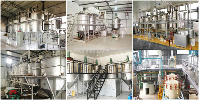 small scale palm kernel oil refinery plant