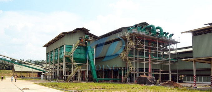 palm oil procesing plant