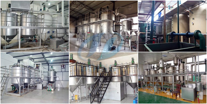small scale palm kernel oil refinery equipment