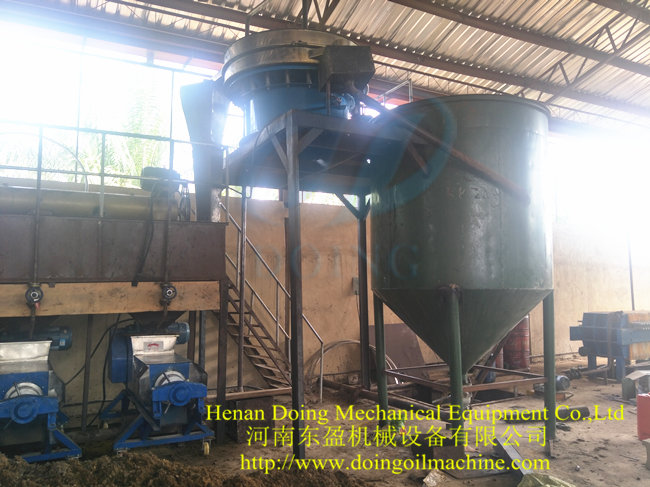 palm oil filter machine