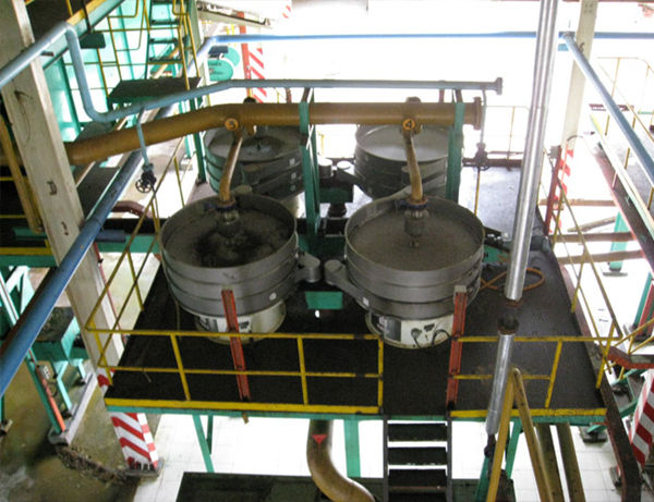crude palm oil clarification machine