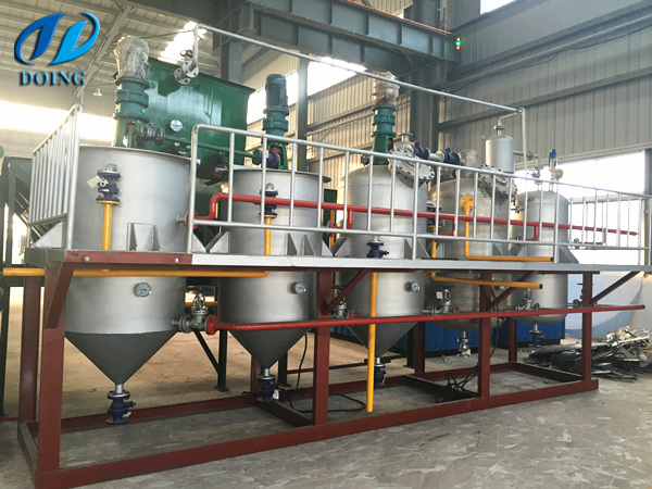 2tpd palm kernel oil refinery plant