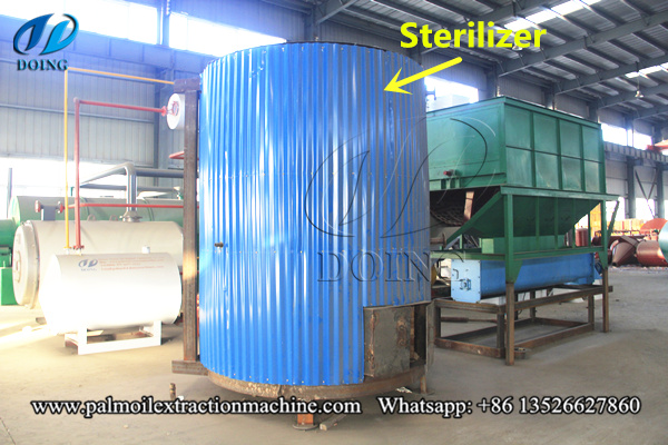 palm fruit sterilization machine