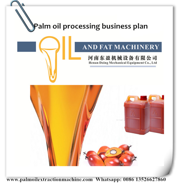 Palm oil processing business plan in Nigeria_Industry news