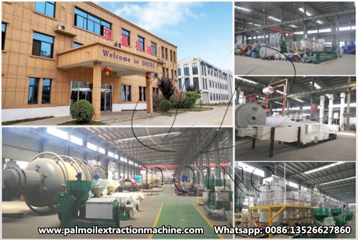 palm oil processing machine manufacturer