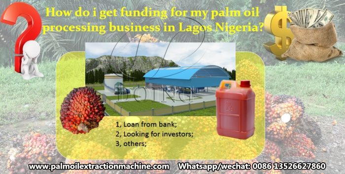 palm oil processing business