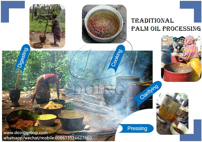 palm oil processing in nigeria